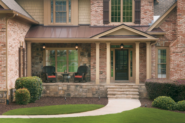 Front porches 2 traditional porch atlanta by for Traditional porch