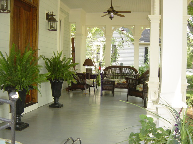 Front Porches traditional-porch