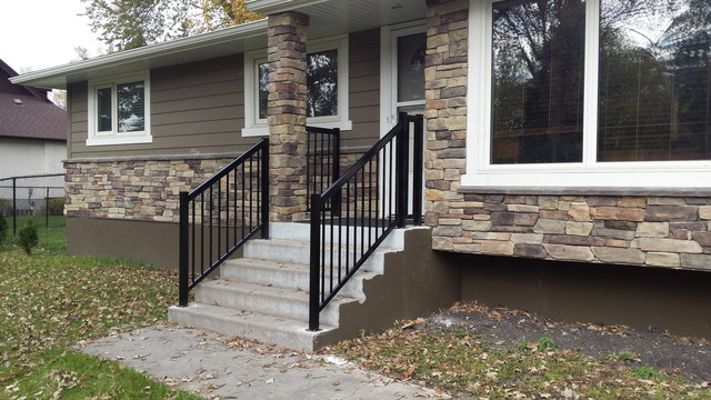 Front step Railings - Modern - Porch - Other - by Best ...