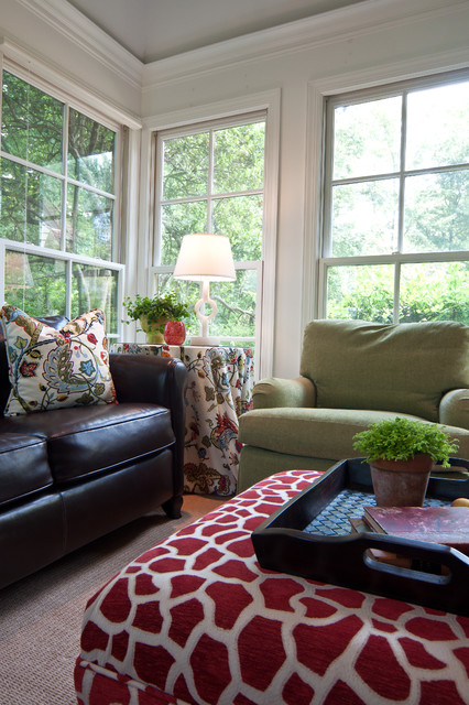Galloway Sunroom eclectic-porch