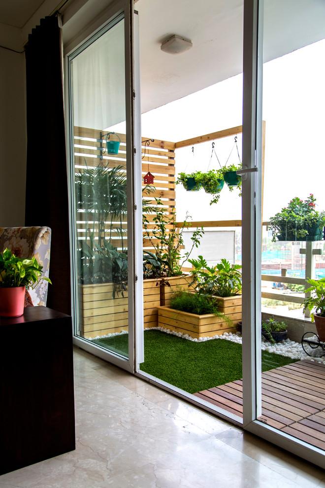 Trendy porch idea in Delhi