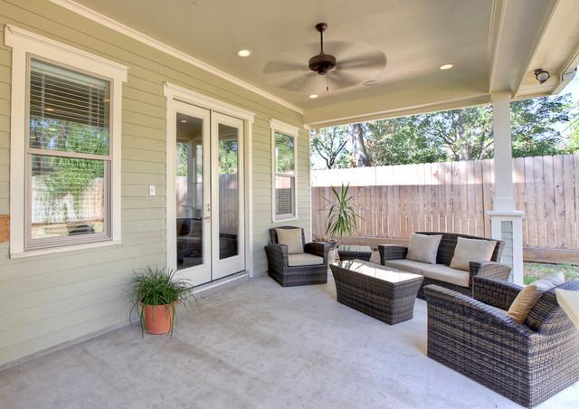 Garden Oaks Remodel traditional-porch