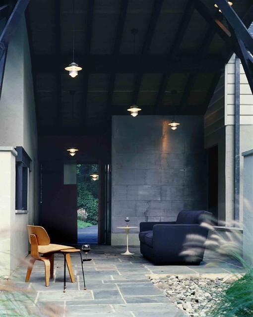 Gladwyn Residence modern-porch