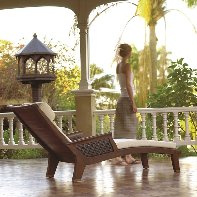 Gloster tropical-outdoor-chaise-lounges