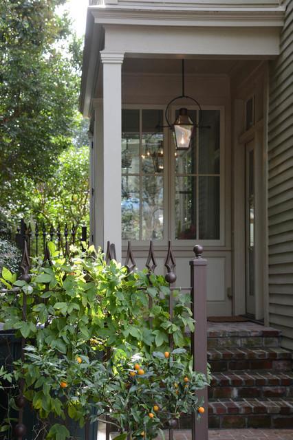Gourmet Kitchen traditional-porch