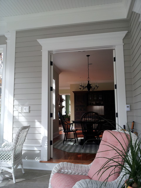 This is an example of a traditional porch design in St Louis.