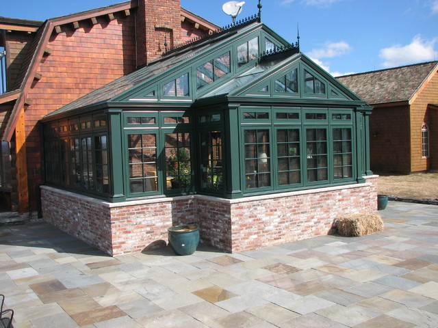 Greenhouse residential hartford green traditional for Greenhouse designs for residential use