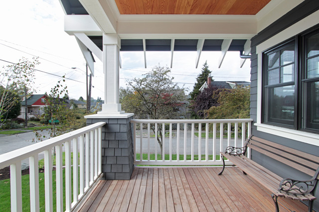 Greenlake Residence craftsman-porch