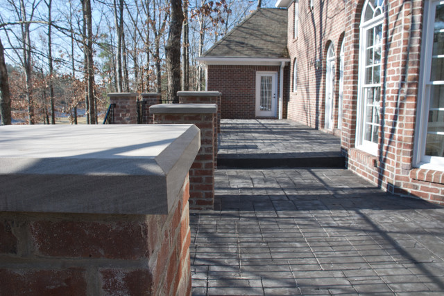 Greystone Deck Project traditional-porch
