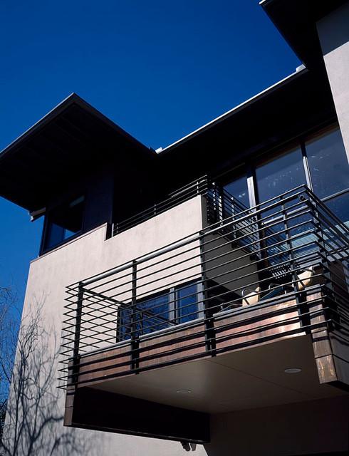 Grove contemporary-porch