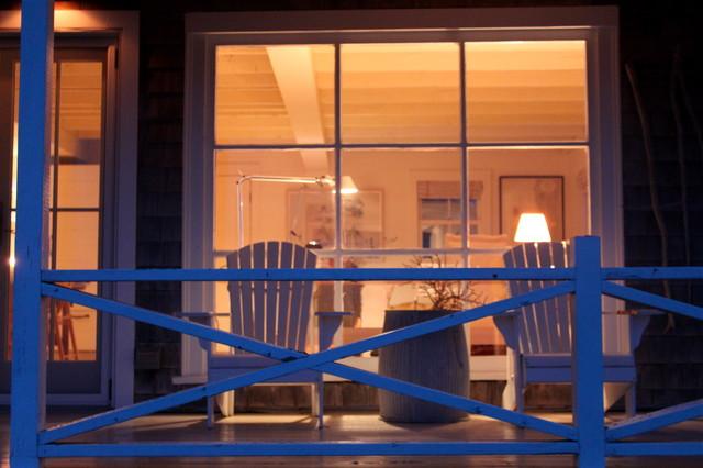 Harbor Cottage, Maine rustic-porch