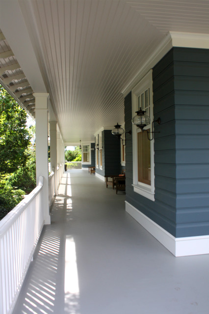 Harbor Springs Residence Porch traditional porch