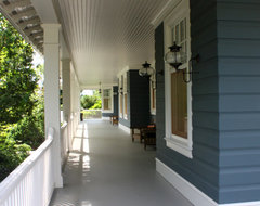 Harbor Springs Residence Porch traditional-porch