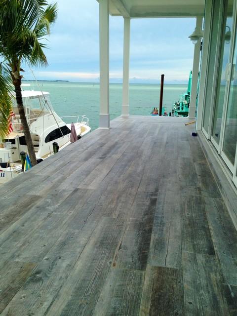 Hardwood Floors T The Florida Keys Contemporary Veranda Miami