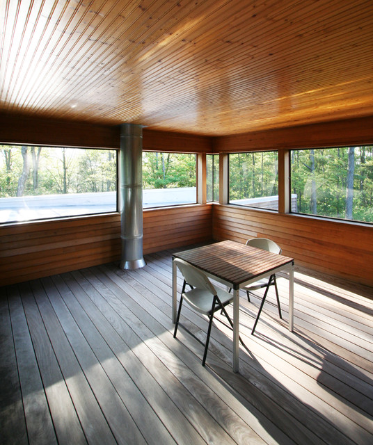 Harmony Hill porch modern-porch