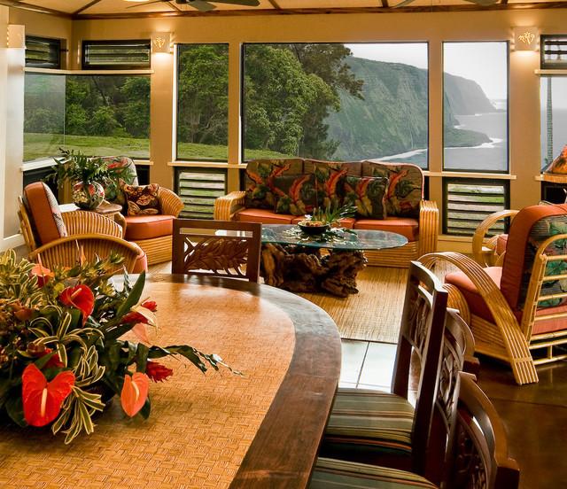 Tropical Beach House Interior: Hawaiian Cottage Style