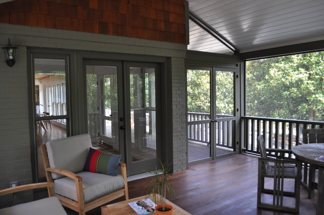 Hendersonville Remodel contemporary-porch