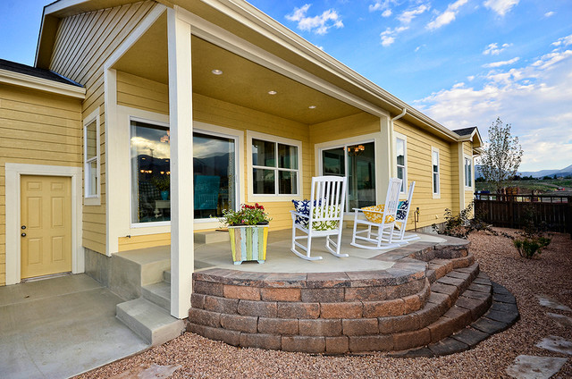 Hi Point Home Builders traditional-porch