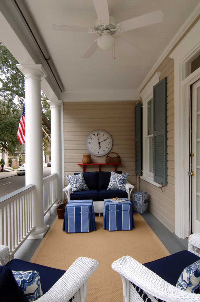 Elegant porch photo in Charleston