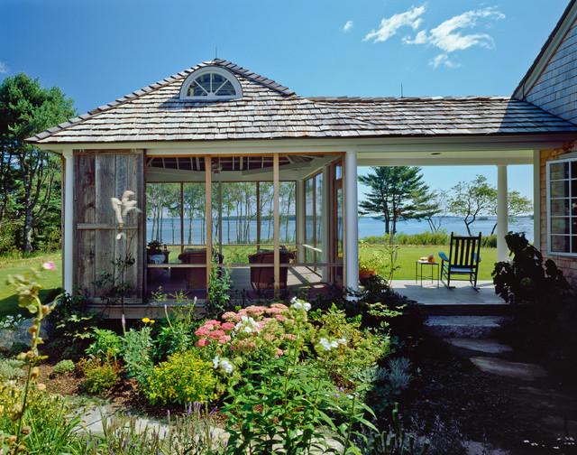 Highland Farm Residence Victorian Porch Portland