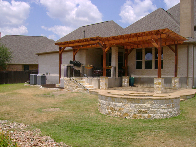 Highpointe Dripping Springs Outdoor Living traditional-porch