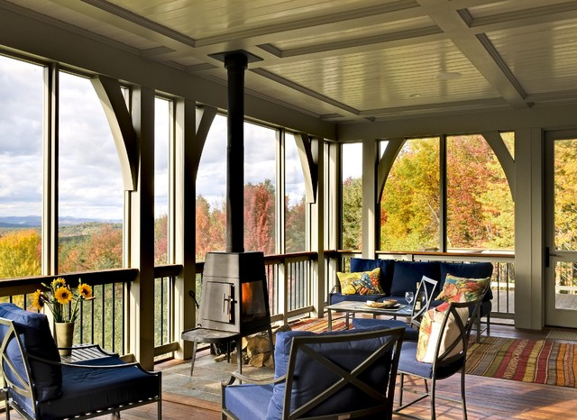 Hillside Residence Hanover NH contemporary porch