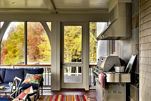 contemporary porch by Smith & Vansant Architects PC