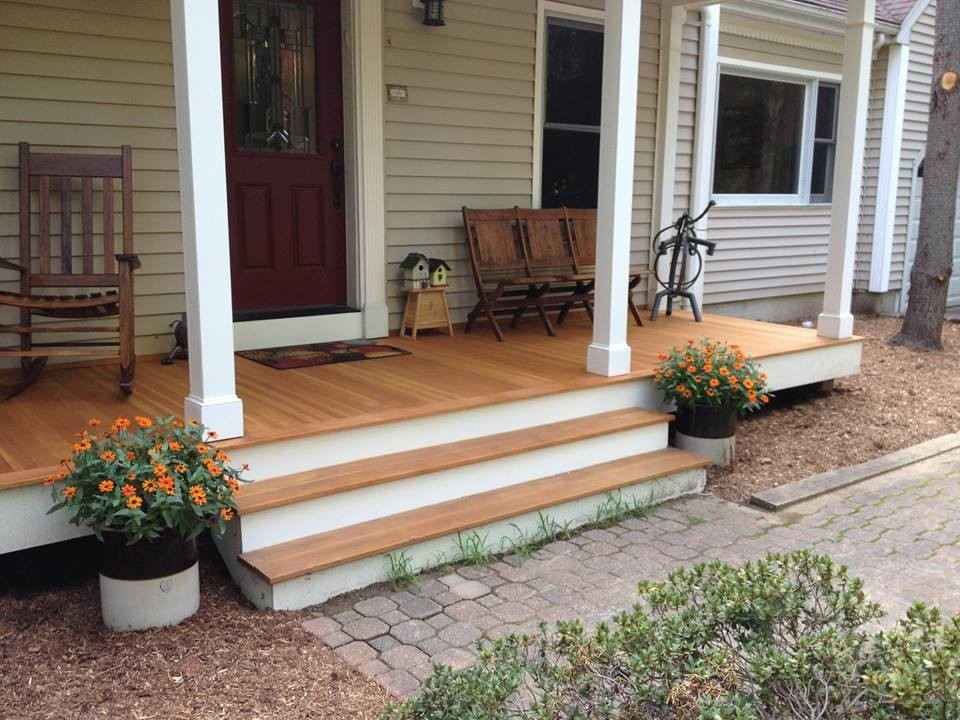 Hipped Front Porch