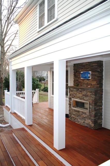 Historic Cape Addition traditional-porch