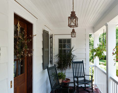 Historic Chappaqua Pineapple House traditional porch