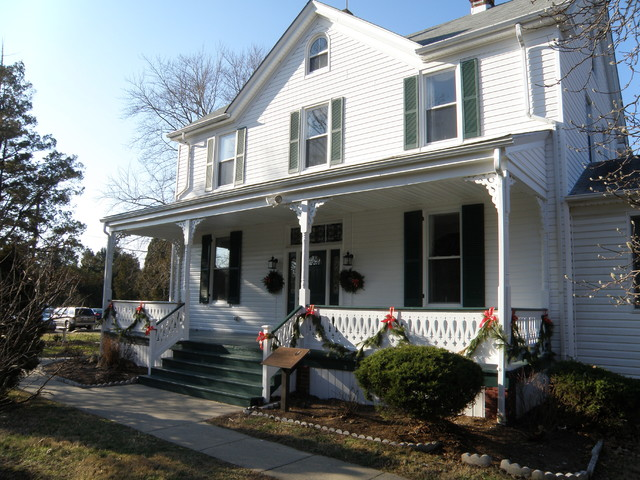 Historic Porch Renovation traditional-porch