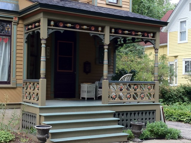 Historic Porch Renovations Traditional Porch Chicago