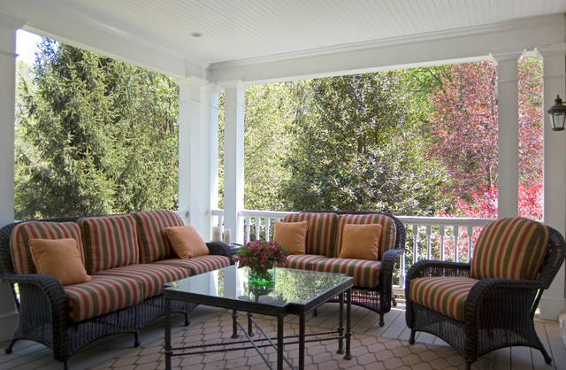 Historic renovation, Wayne, Pennsylvania traditional-porch