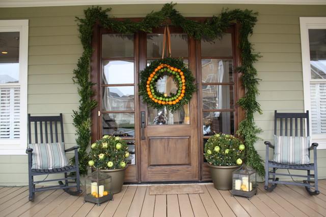 Holiday Home Tour contemporary-porch