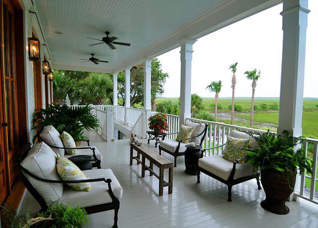 Home Farm 1 traditional-porch