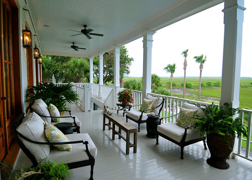 B e interiors front porches for Beautiful veranda designs