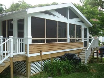 Hondros Screen Porch Addition traditional-porch