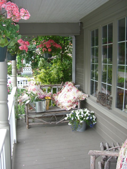 Hope Designs Shabby Chic Style Porch