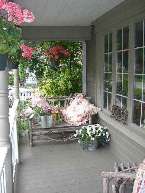 Elegant Hope Designs Shabby Chic Style Porch