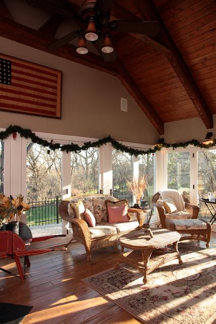 House Renovation traditional-porch