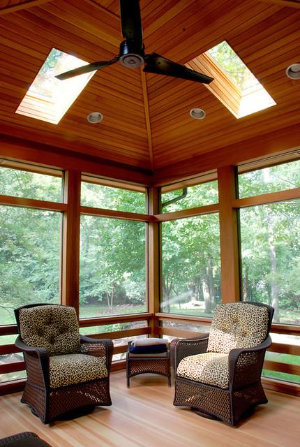 Huntington Porch contemporary-porch
