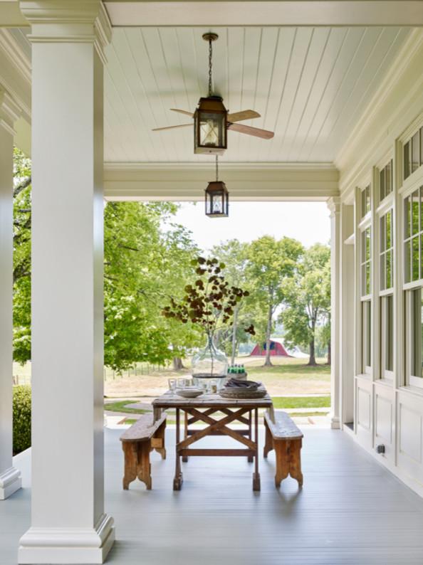 Farmhouse porch photo in Nashville