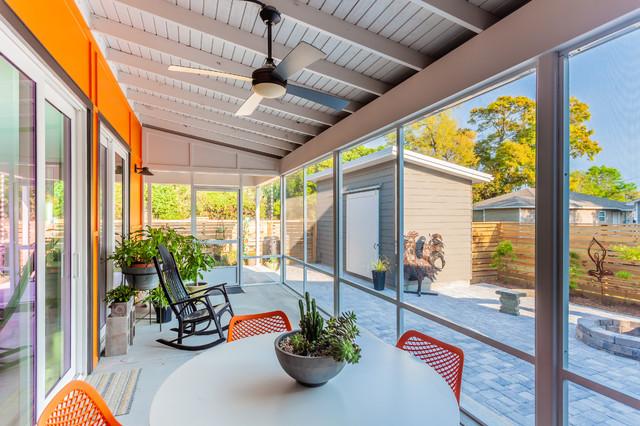 I'll Take the Zero - Contemporary - Veranda - New Orleans - by Dalrymple | Sallis Architecture ...