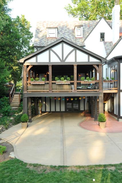 Incredible Outdoor Living Space porch