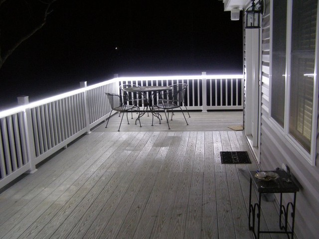 Inspired Led Accent Lighting Outdoor Patio Traditional Porch