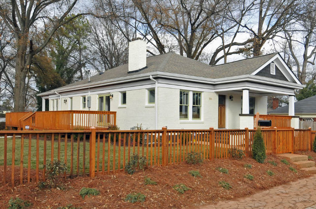 Intown Bugalow Complete Renovation contemporary-porch