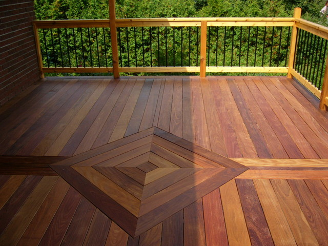 Ipe Deck Traditional Porch Ottawa By Ironwood Flooring