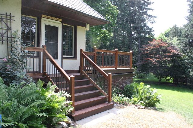 Ipe Deck traditional-porch