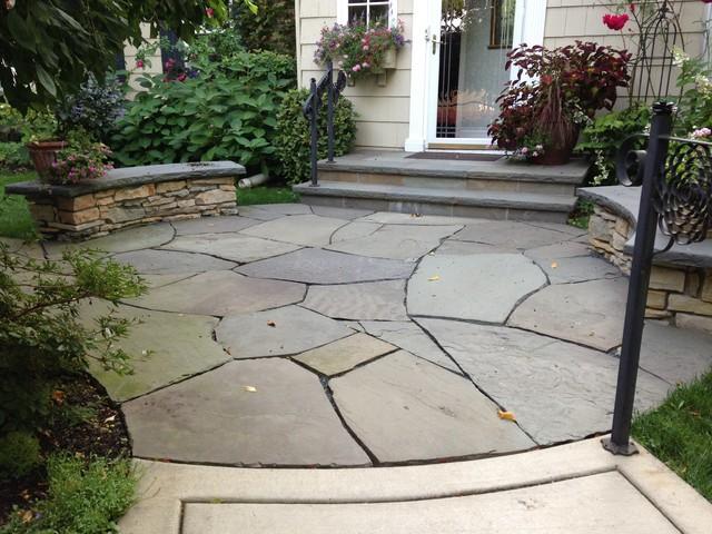 Irregular Bluestone Flagstone In St Paul Minnesota