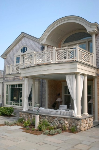 island retreat traditional porch